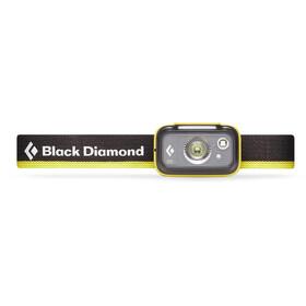 Black Diamond Spot 325 Linterna frontal, negro/amarillo
